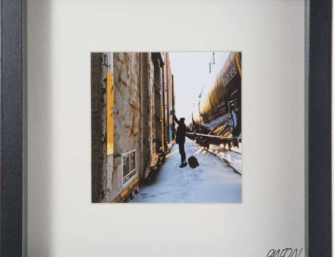 51. Untitled // Urban Camper // photograph [SOLD]