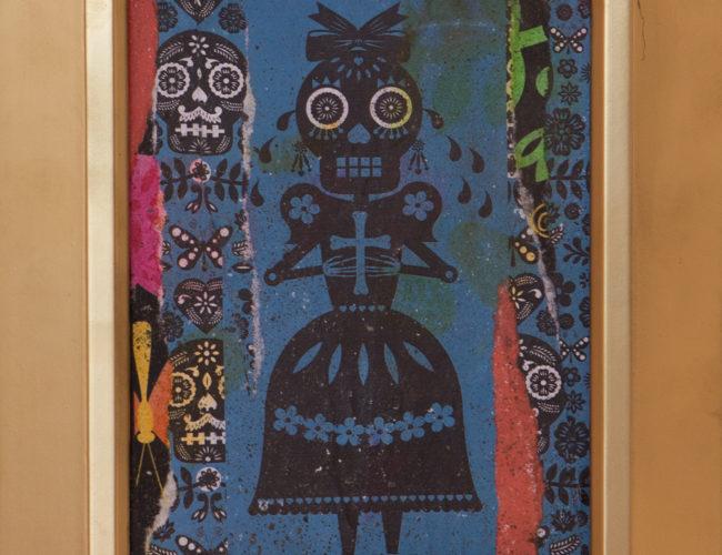 "31. ""La Llorona"" by Luis Fitch, Mixed Media, 7"" x 9"" // 2016, $80"